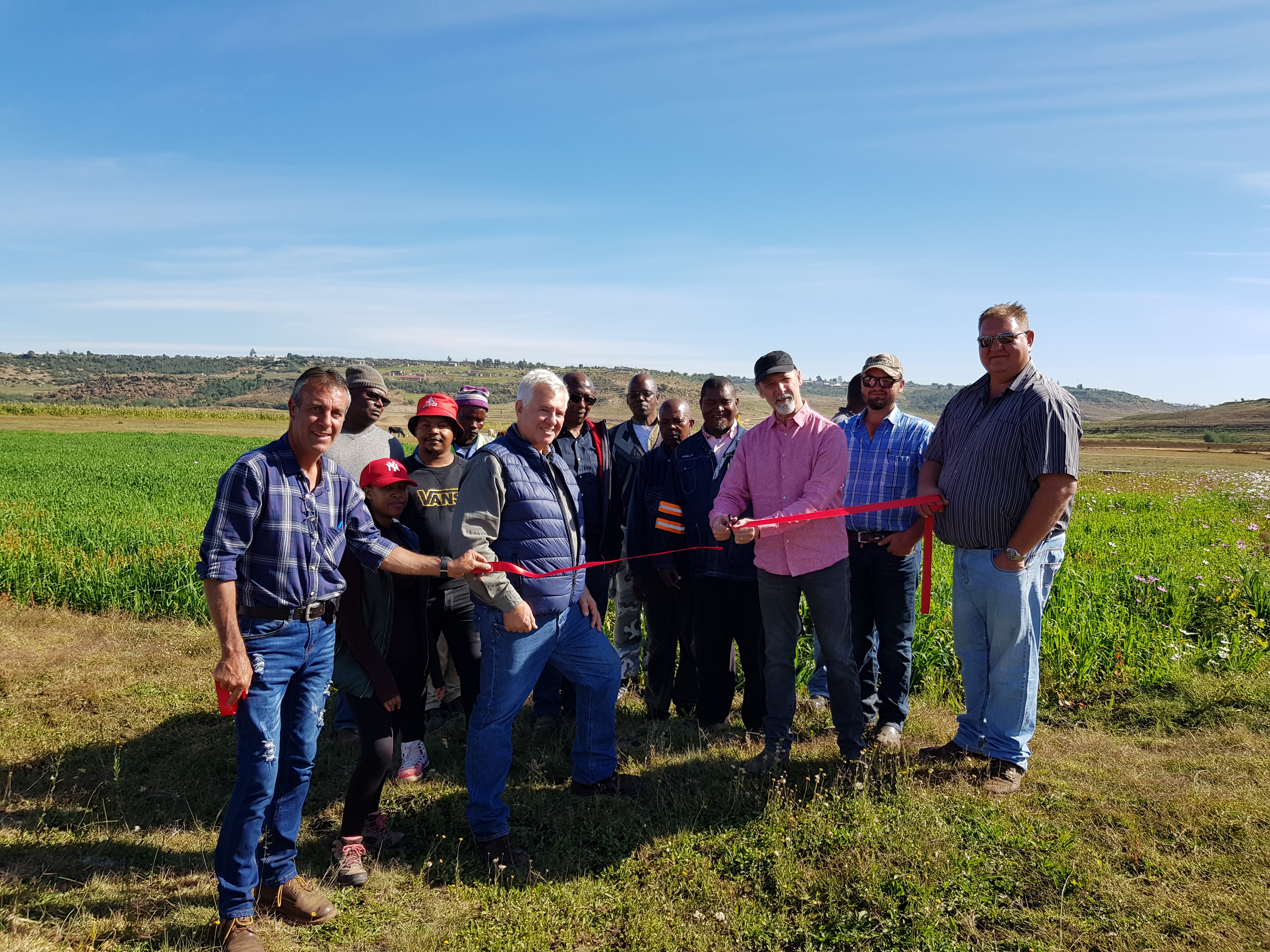 Gallery – White Sheep Breaks Ground on Licensed Cannabis Facility in Lesotho, Africa